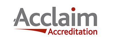 acclaim accreditation